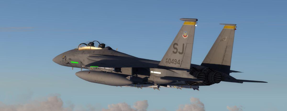 Milviz F-15 and P3D v3 :) - Page 2